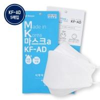 하모니케어 KFAD 비말차단 국산마스크 5매 의약외품