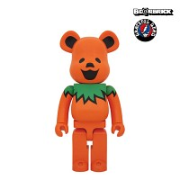 [KINKI ROBOT] 400%  BEARBRICK GRATEFUL DEAD DANCING BEARS-ORANGE (1509008)