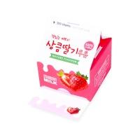 [인디고샵] 상큼 딸기 우유 메모지