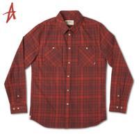 [Altamont] HAULER FLANNEL L/S (Rust)