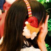 크리스마스 귀마개 (산타)