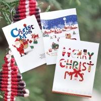 크리스마스카드/성탄절/트리/산타 크리스마스 카드 FS1024 Set123 (3종 한세트)