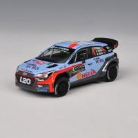 현대 i20 2016 WRC 다이캐스트 미니카 (77128)
