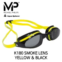 MP 마이클펠프스 K-180 스모크랜즈 YELLOW & BLACK