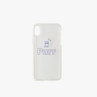 PURR iPhone Jelly Case