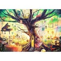 1000조각 목재 직소퍼즐▶ 마음의 집 [WPK1000-20]
