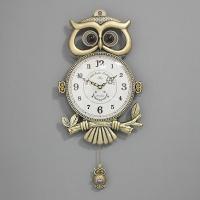 (khhl137)저소음 카이스트 부엉이 시계 (신주)