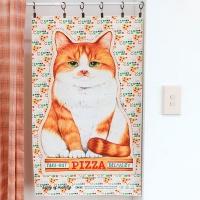 패브릭 - 피자박스 고양이 (점보사이즈 )