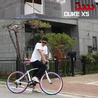 듀크 X5 700C 스램 X4 8단 하이브리드