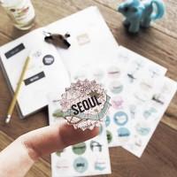 시티 트래블 스티커_City Travel Stickers