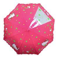 헬로키티 53 애플 자동우산(안전살대)