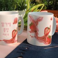 ce179-디자인머그컵2p-딸기에퐁당