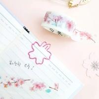[인디고샵] 봄을 알리는 벚꽃 마스킹 테이프