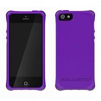 [충격완벽보호 볼리스틱 케이스] BALLISTIC LS Smooth iPHONE 5 (Purple2) [완벽하게 스마트폰 보호 소재]