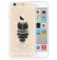 i-phone 6 Clear owl in night  (SWAROVSKI)