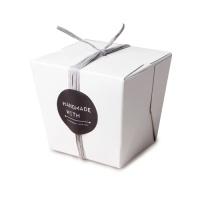 [인디고샵] 화이트 런치 박스 소 (2개)