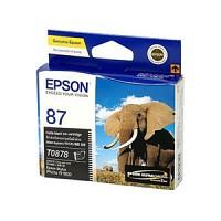 엡손(EPSON) 잉크 C13T087890 / NO.87 / 매트검정 / Stylus Photo R1900