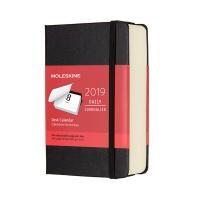 몰스킨 2019데스크캘린더/블랙 하드 P