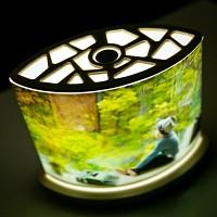 LED [루모램프 우디 마이포토 이미지쉐이드] - 가로형 패키지