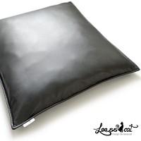 [리스캣]베이직 블랙 1인방석