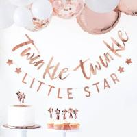 로즈골드 Twinkle Twinkle 리틀스타 가랜드