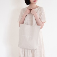 WY Tote bag-Ivory