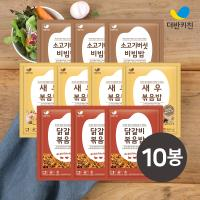 [더반키친]새우4+닭갈비3+소고기버섯3