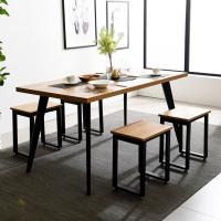 블랙 인더밴 1500 철제 식탁 테이블