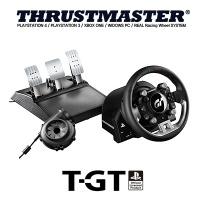 PS4/PC 트러스트마스터 T-GT 레이싱휠 / 3페달 포함