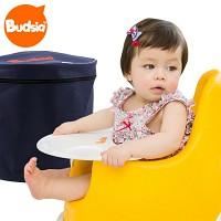 [버드시아] 쿠션 아기의자+식판+휴대용가방(3종세트_점보 사이즈)
