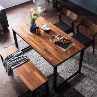 [채우리] 루킹 멀바우원목 4인식탁세트(의자/벤치)