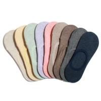 [4팩] 선택형 여성용 무지 컬러 더블유 히든삭스