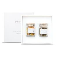 [꽃을담다]오리지널꽃차 2종세트+쇼핑백