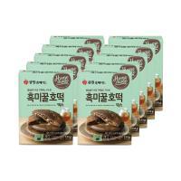 (박스특가)큐원 흑미꿀호떡믹스 133g 10개 프라이팬용