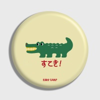 [어프어프] 손거울 Crocodile-Ivory