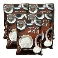 [기획]미인과친한 곤약미 곤약쌀200g 5봉