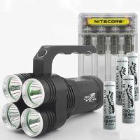 LED 써치라이트 세트 4E85L-Q4W 294 손전등 8500루멘