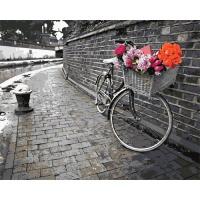 DIY 명화그리기세트 - 행복길 자전거 컬러캔버스