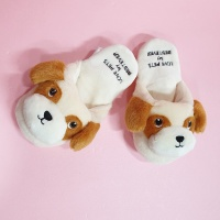 Love Pet Squeaky Beagle slipper바스락삑삑