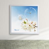 iw060-자연의아름다움액자벽시계_디자인액자시계
