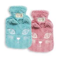 겨울 필수품 고양이커버 만년 보온물주머니 수통 중형