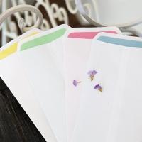 색지이중 봉투세트 FB504 4종(24장 한세트)