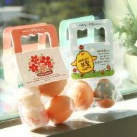 부활절 달걀 2구 사각손잡이 40개(비닐포함)_그림세트