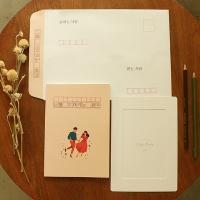 너를기다리는 책 편지 집 커플곰신 기념일 예쁜편지지