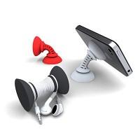 Striker 심플서커 스마트폰 전용거치대-3팩(레드+화이트+블랙)