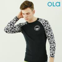 [OLA]올라 남성 래쉬가드 인디고 OTM005 수영복/서핑