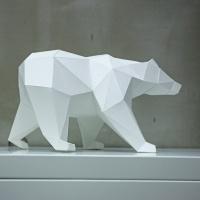[톰텐] 페이퍼크래프트 사라져가는 북극곰 Polar Bear