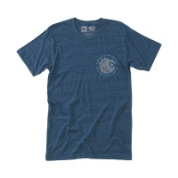[히피트리] Brushstroke Tee - Heather Navy