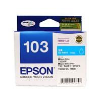 엡손(EPSON) 잉크 C13T103270 / NO.103 / 청록 / Stylus Office T30,T40W,TX600FW,TX510FN,T1100 , Stylus TX550W T103270 파랑색