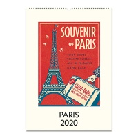 2020 카발리니 캘린더 Paris